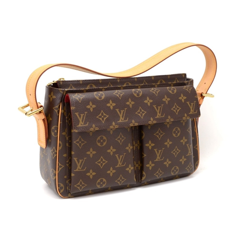 Viva Cite GM Monogram Canvas Shoulder Bag