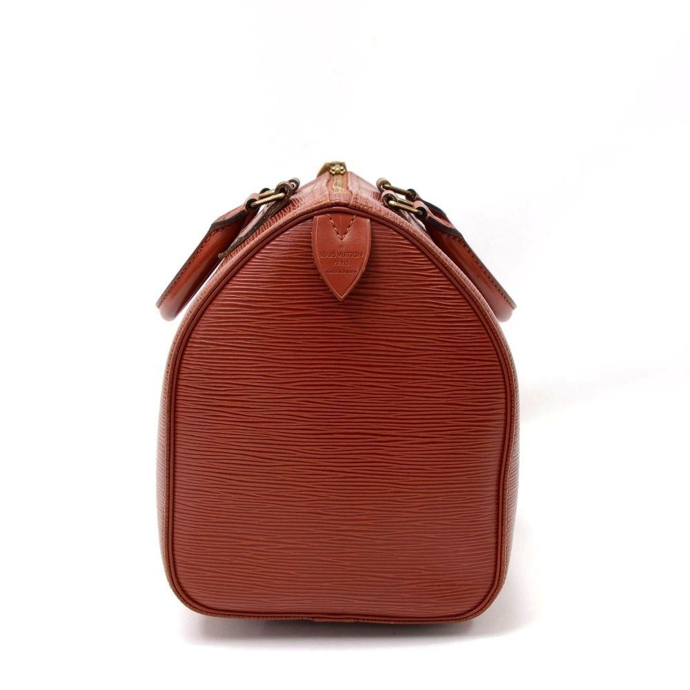 Speedy 30 Epi Leather Handbag