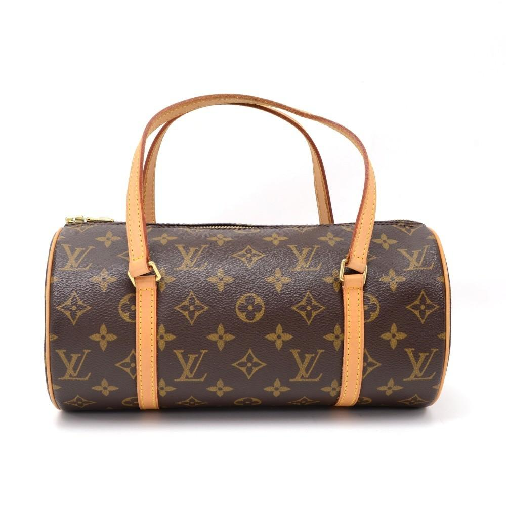 Papillon 27 Monogram Canvas Handbag