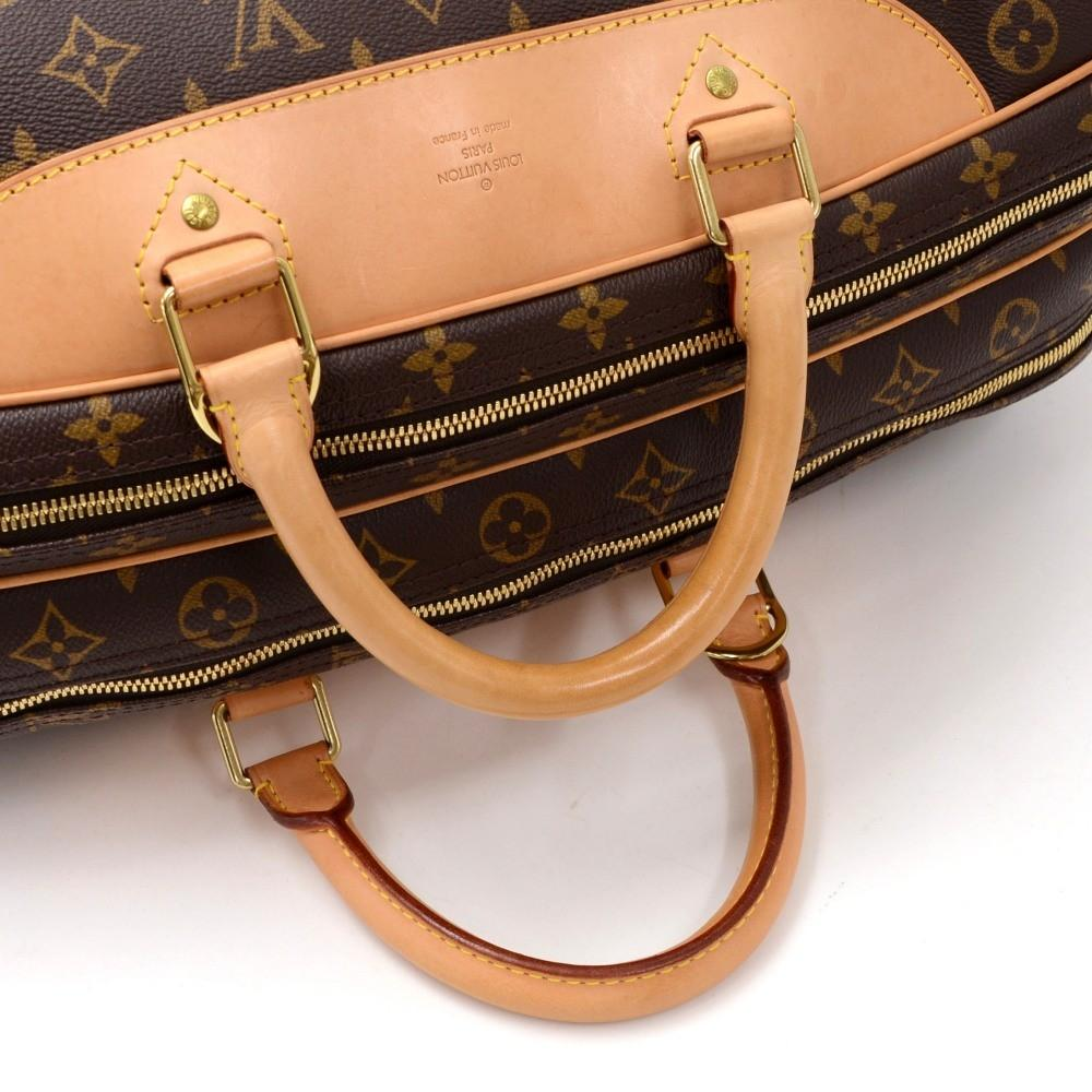 Alize 24 Heures Monogram Canvas Travel Bag with Strap