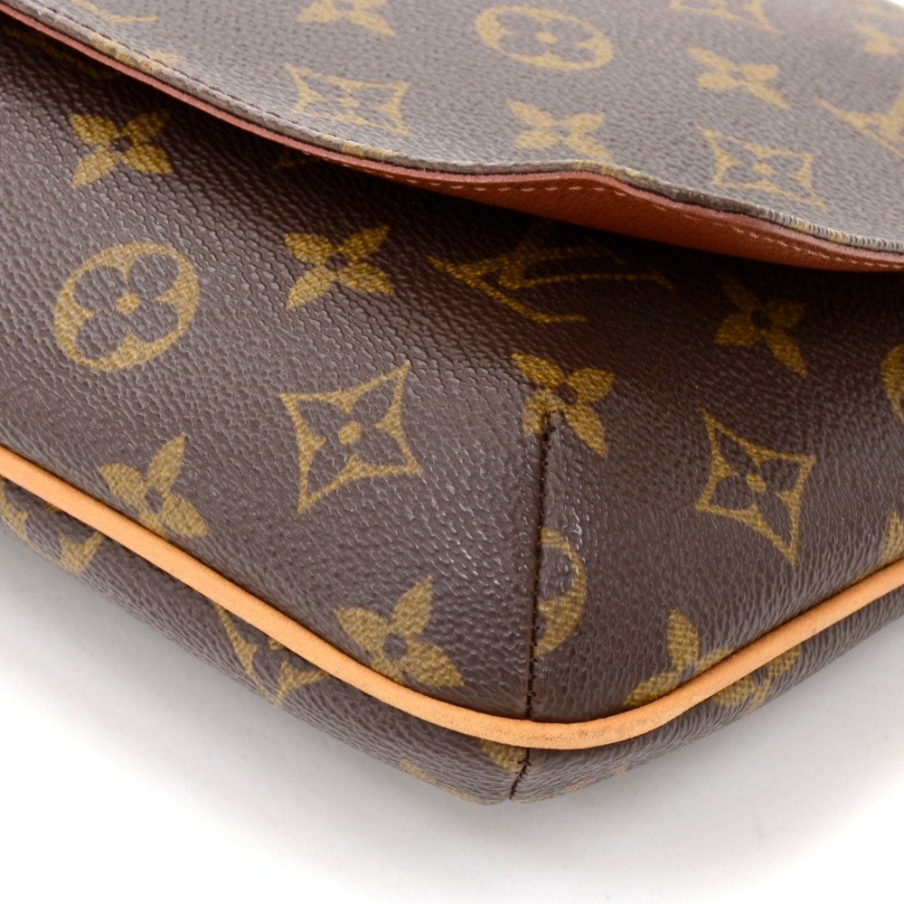 Musette Tango Monogram Canvas Shoulder Bag