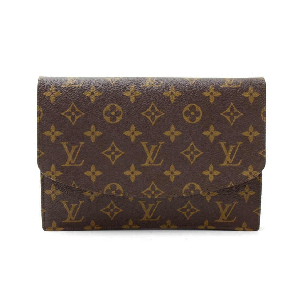 Pochette Rabat Monogram Canvas Clutch Bag