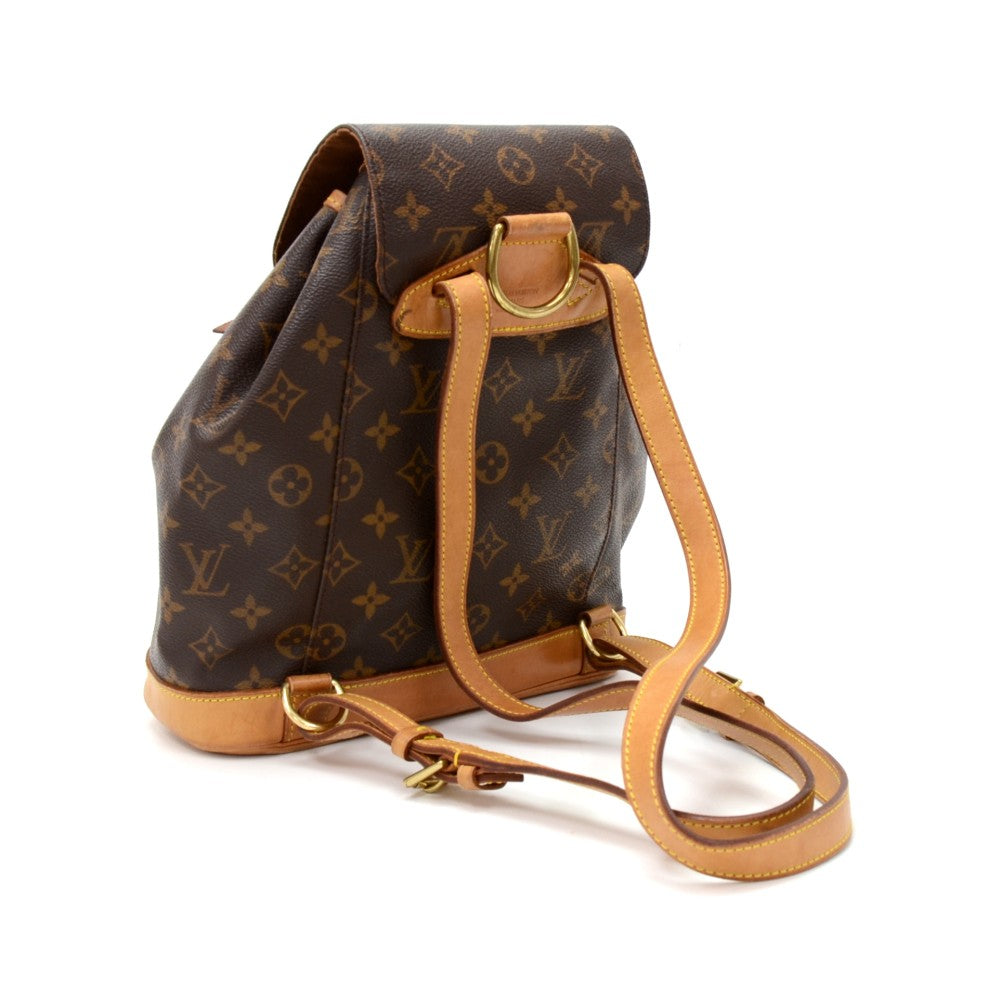 Montsouris MM Monogram Canvas Backpack