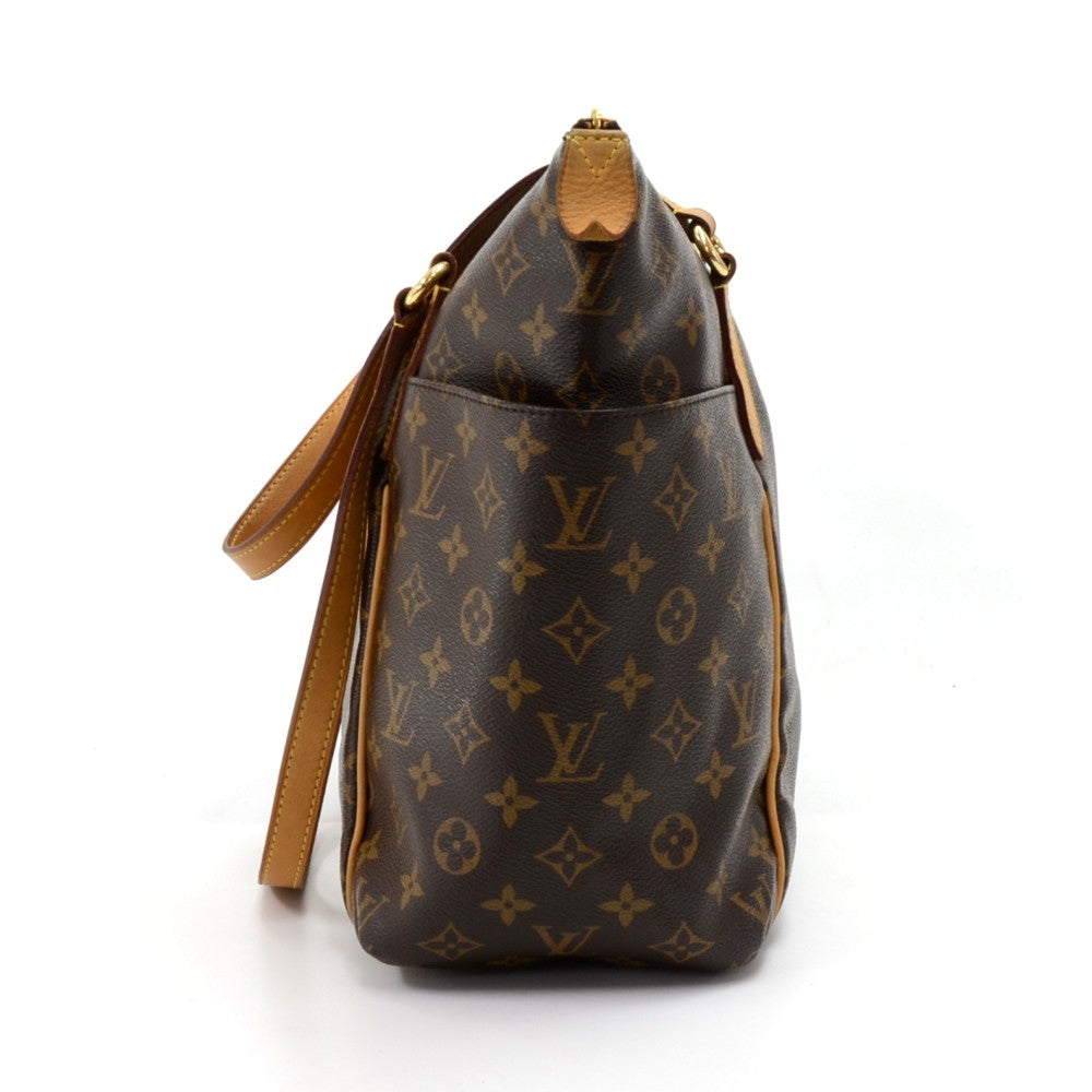 Totally PM Monogram Canvas Shoulder Bag