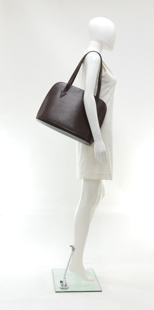 Lussac Epi Leather Shoulder Bag
