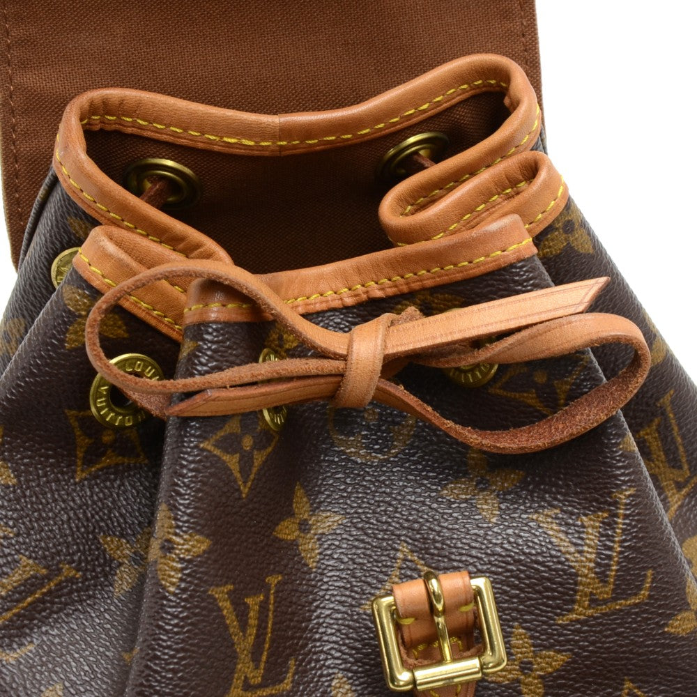 Mini Montsouris Monogram Canvas Backpack