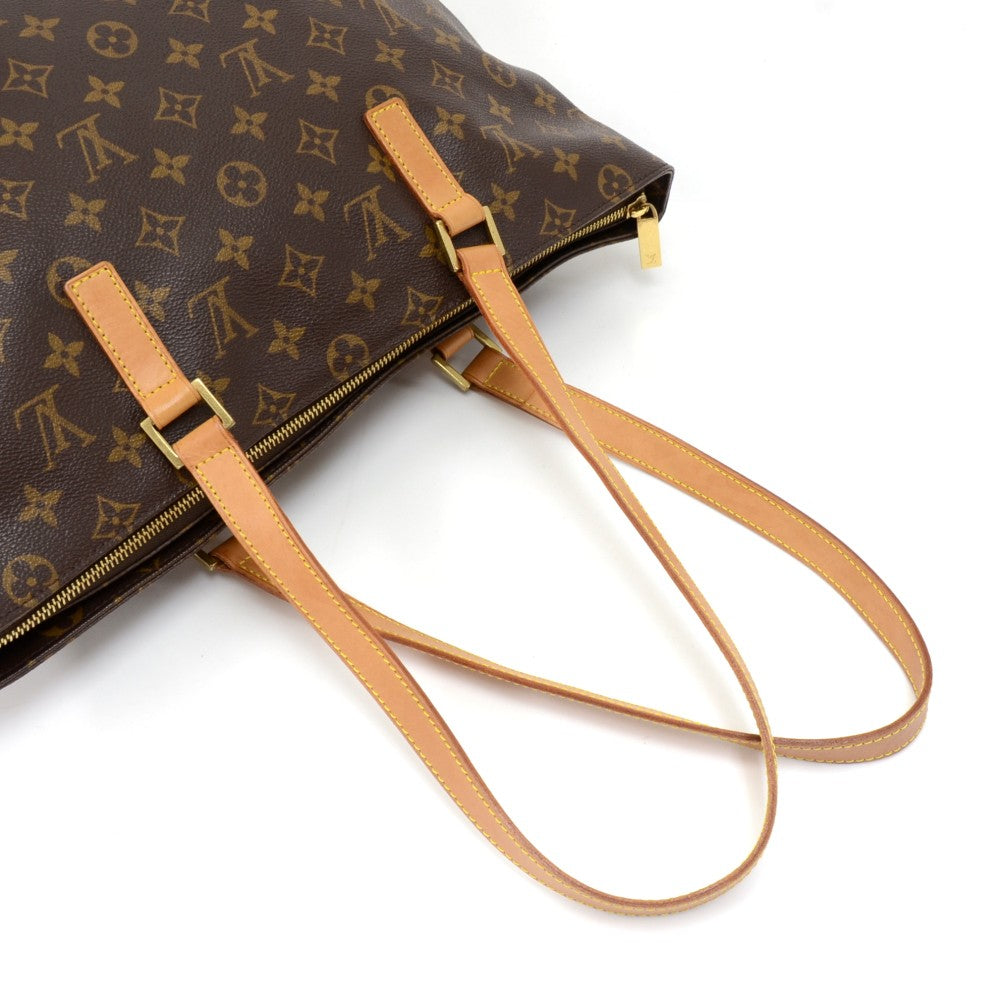 Cabas Mezzo Monogram Canvas Shoulder Bag