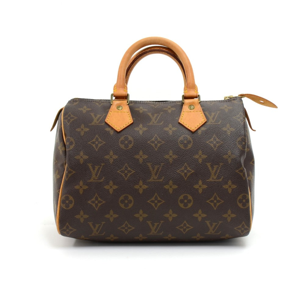 Speedy 25 Monogram Canvas City Handbag
