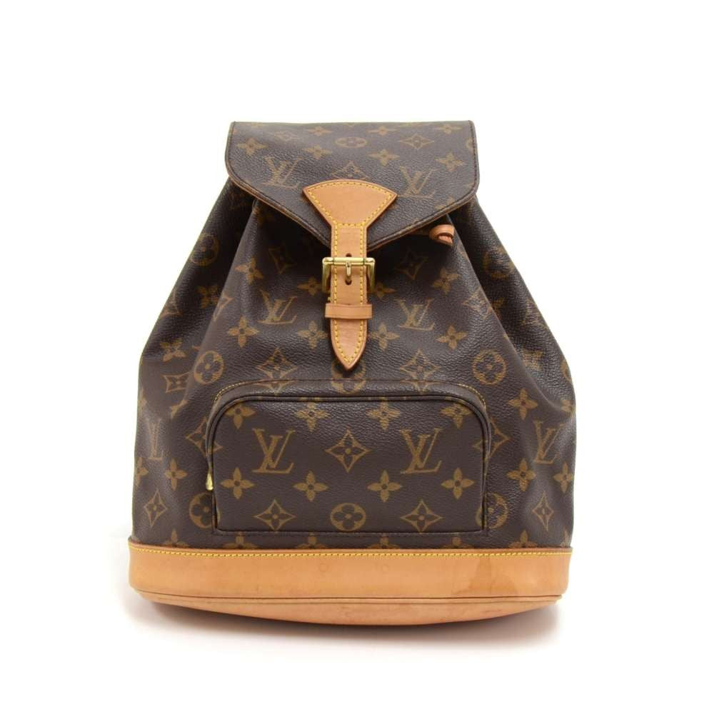 Montsouris MM Monogram Canvas Backpack Bag