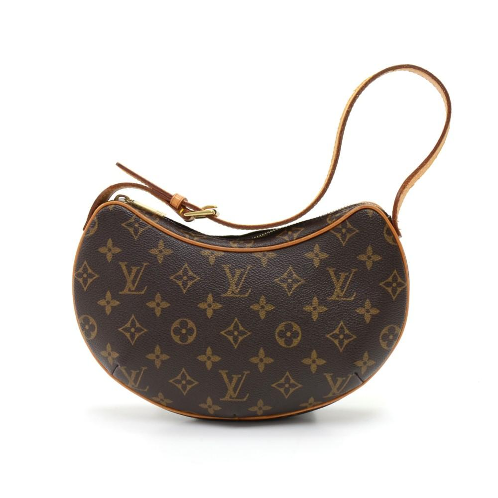 118fc7be150a Louis Vuitton Pochette Croissant PM Monogram Canvas Shoulder Bag ...