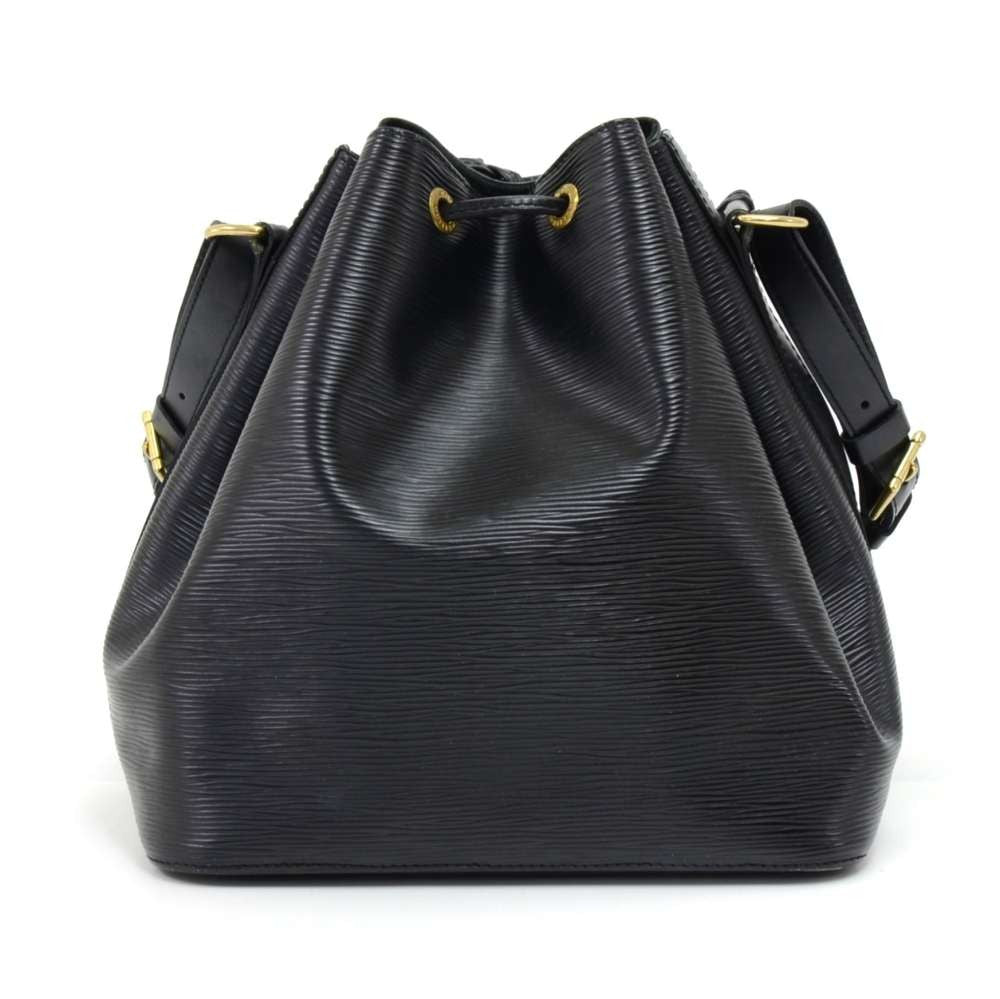 Petit Noe Epi Leather Shoulder Bag