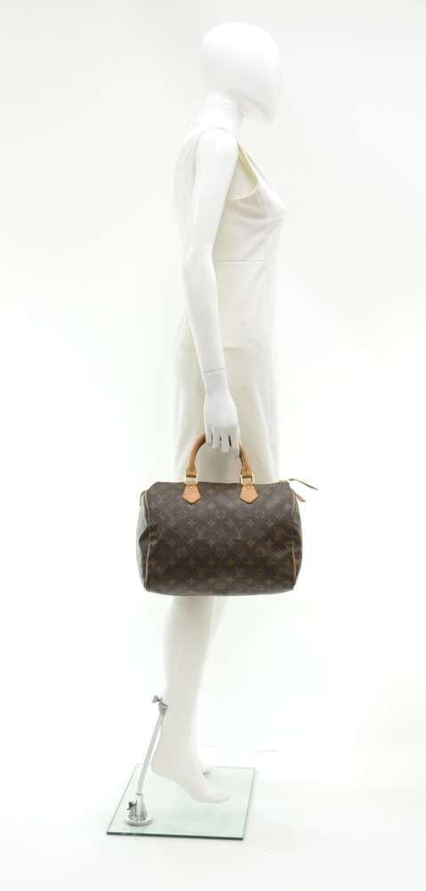 Speedy 30 Monogram Canvas City Handbag