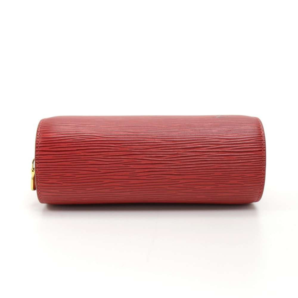 Dauphine Epi Leather Cosmetic Pouch