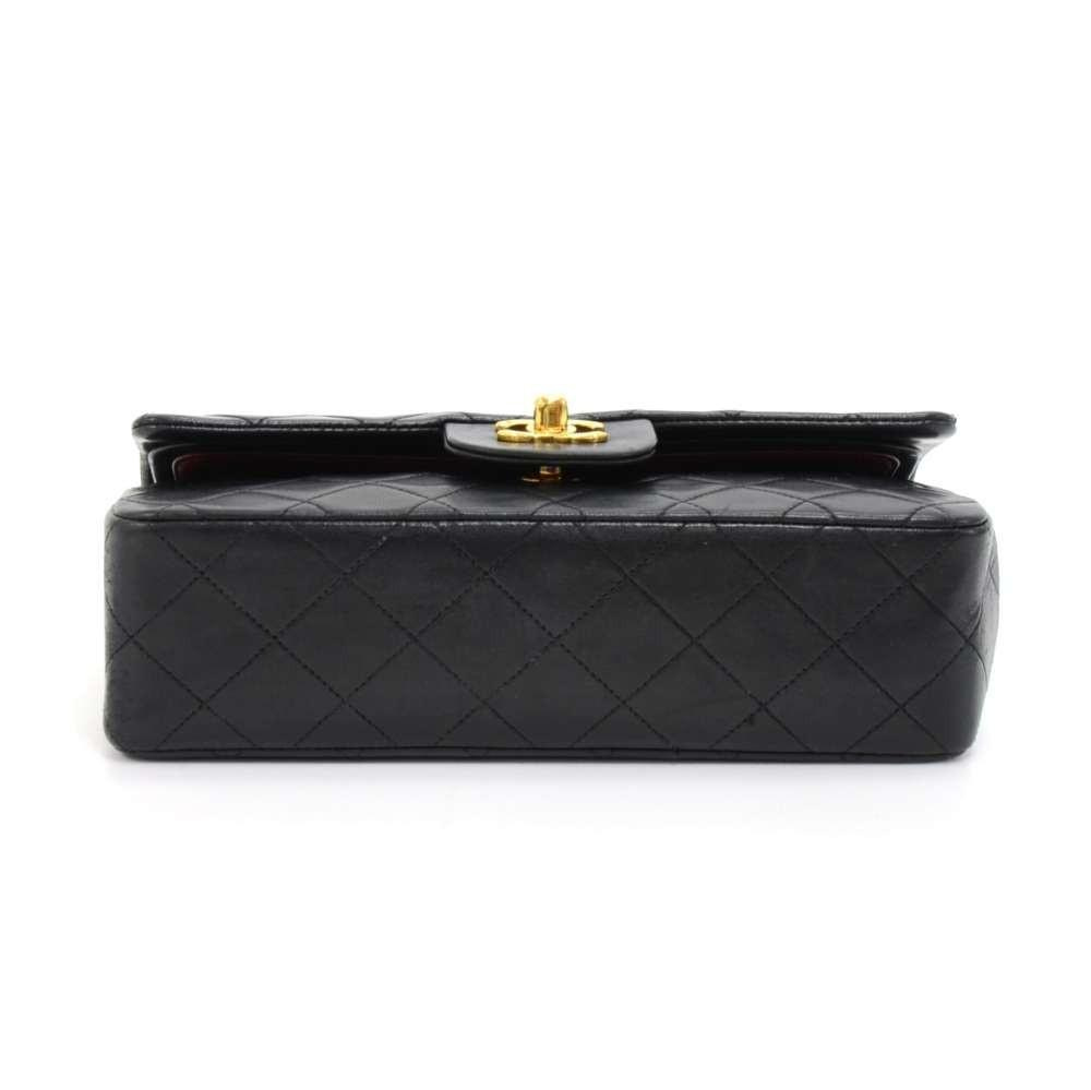 2.55 Double Flap Quilted Lambskin Leather Shoulder Bag