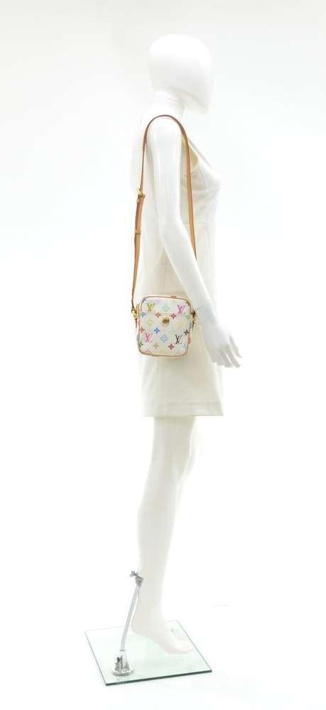 Rift Multicolor Monogram Canvas Shoulder Bag