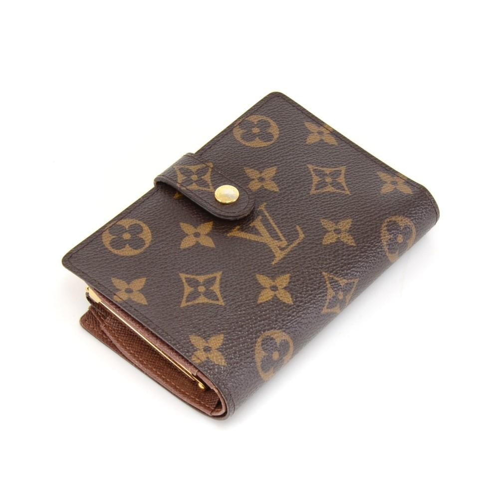 Porte Monnaie Billets Viennois Monogram Canvas Bifold Wallet