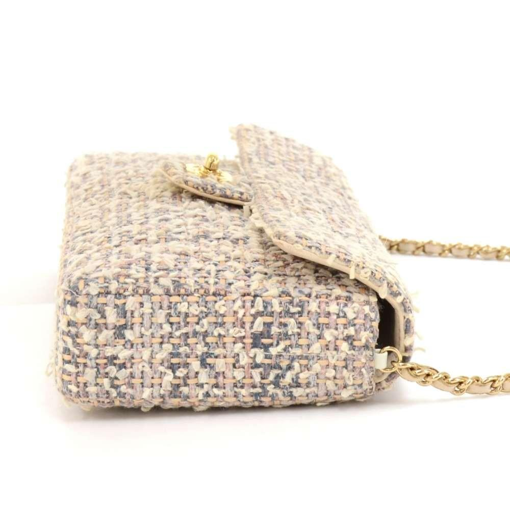 Classic Tweed Rectangular Flap Bag