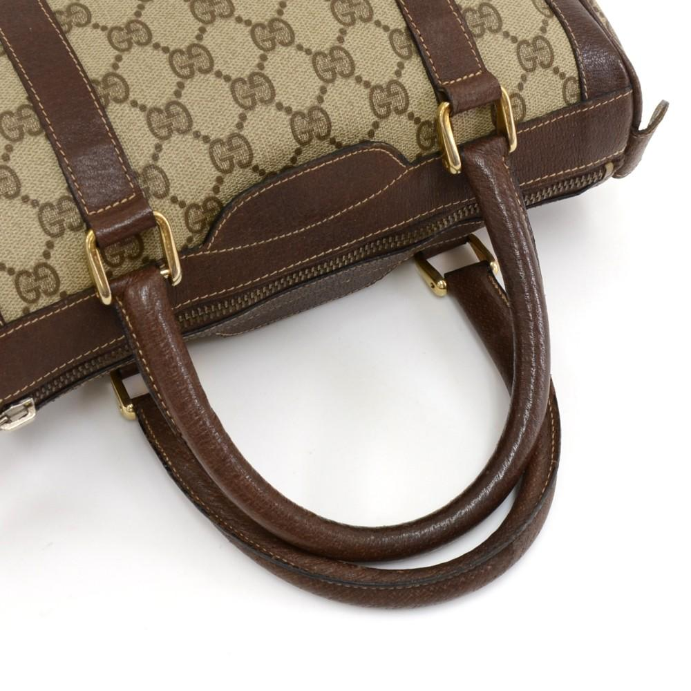 Supreme Monogram Canvas Boston Bag