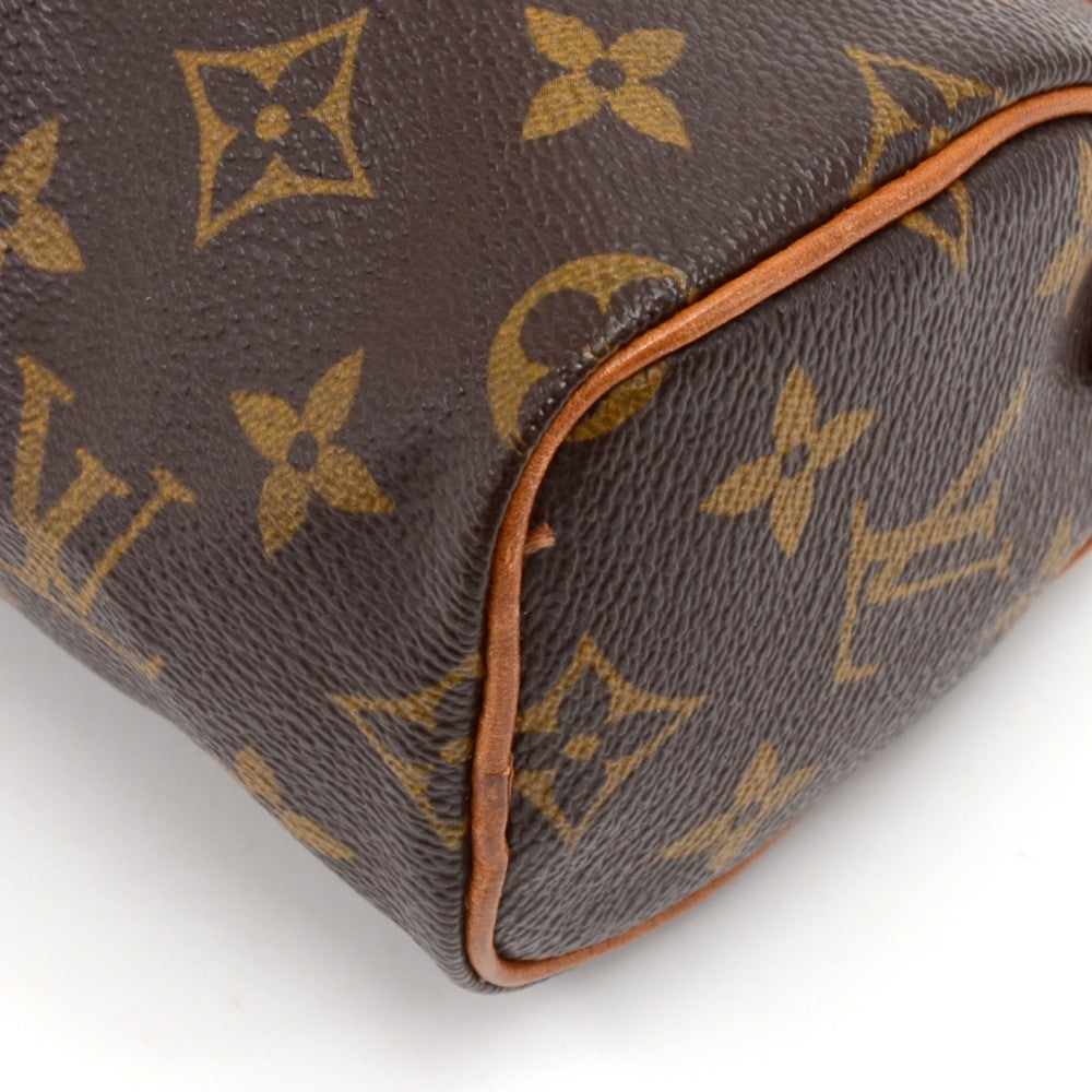 Mini Speedy Sac HL Monogram Canvas Handbag with Strap