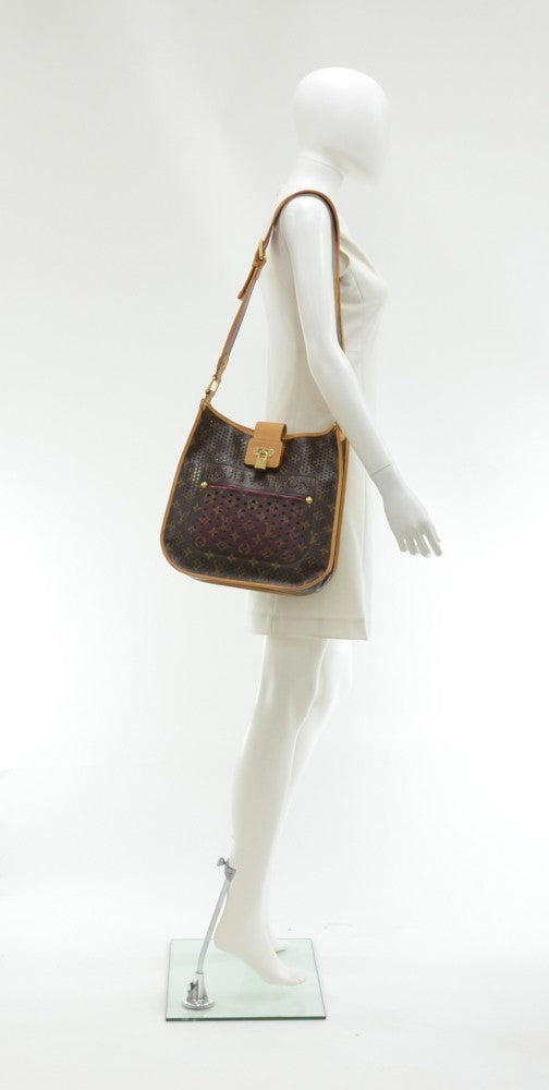 Perforated Musette Monogram Canvas Bag - 2006 Limited Edition Bag