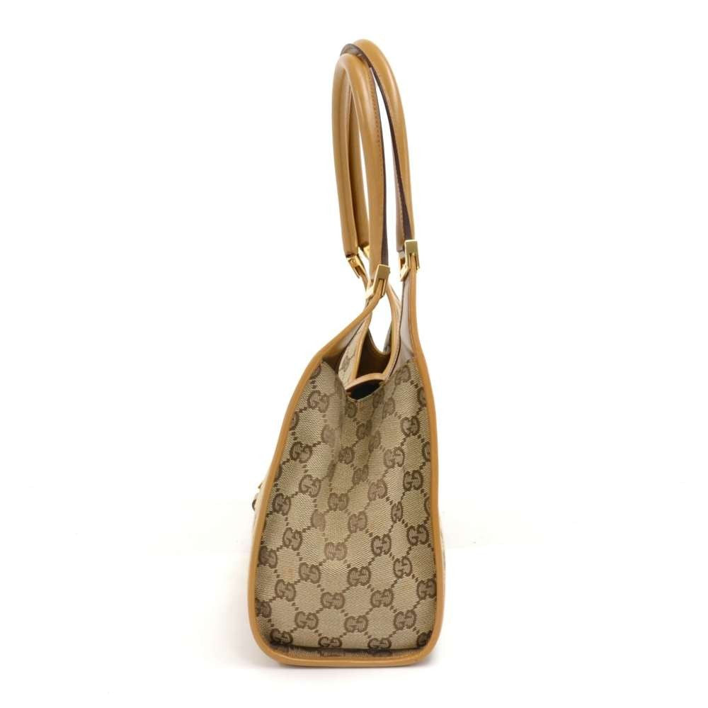 Supreme Monogram Canvas Shoulder Bag