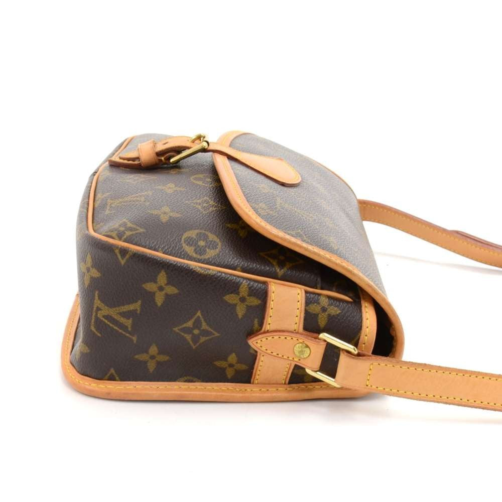 Sologne Monogram Canvas Shoulder Bag