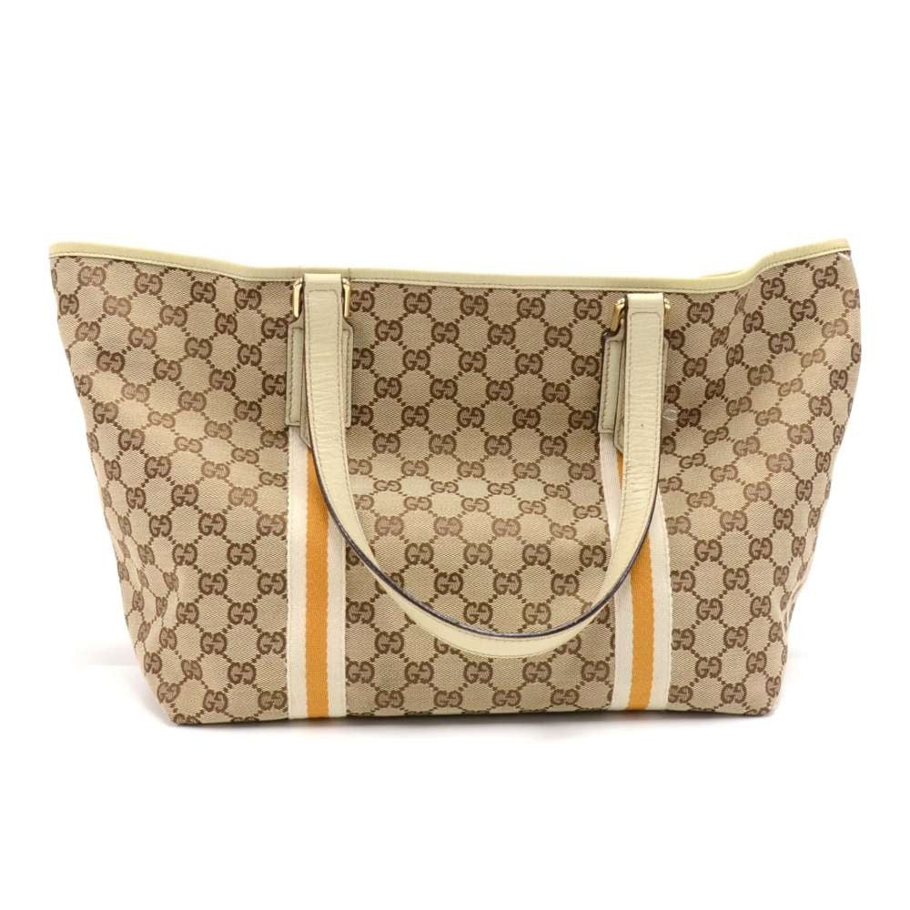 Monogram Canvas Tote Bag