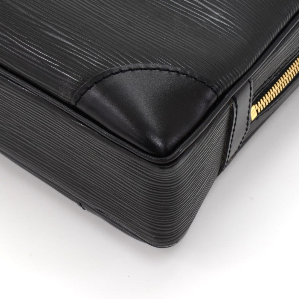 Porte-Documents Voyage Epi Leather Briefcase Bag