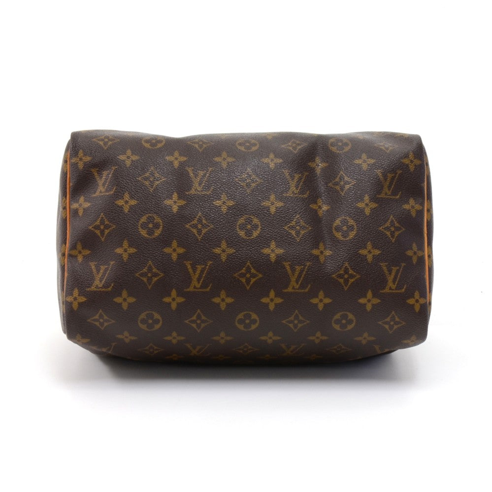 Speedy 30 Monogram Canvas Handbag