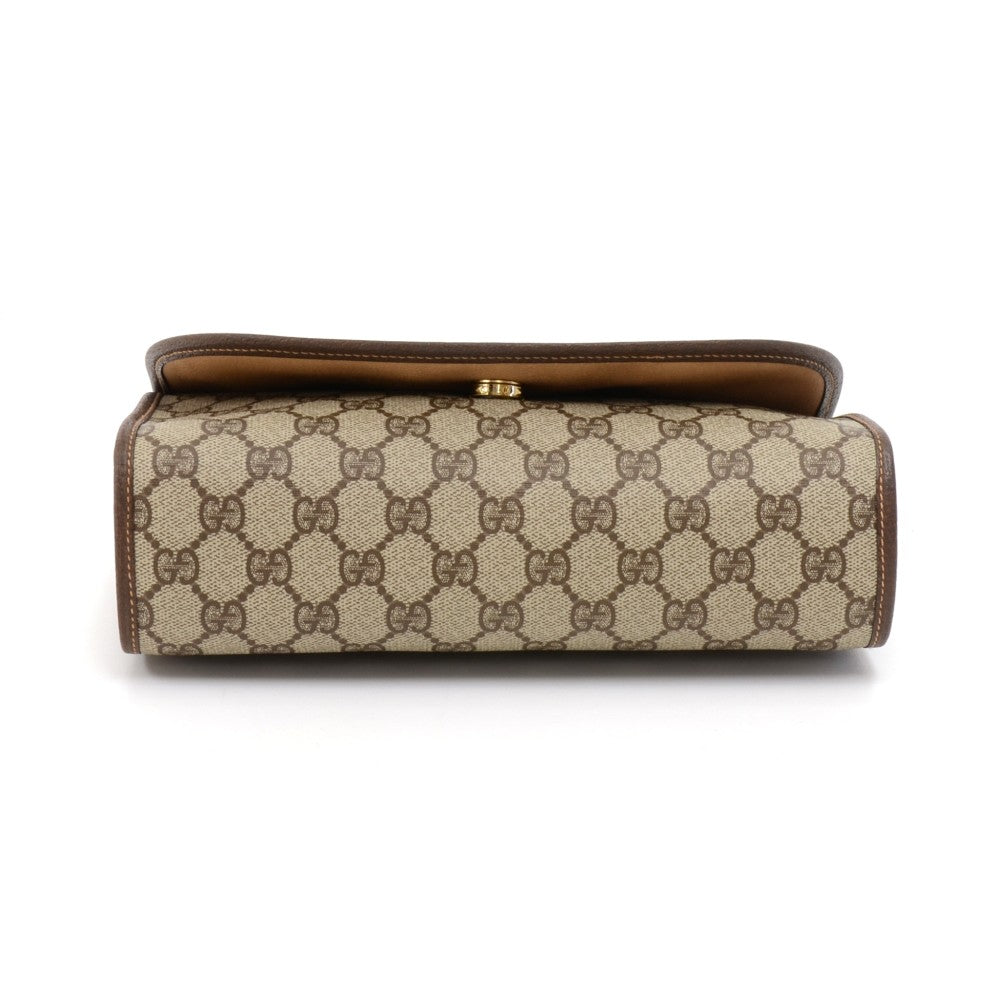 Supreme Monogram Canvas Clutch Bag
