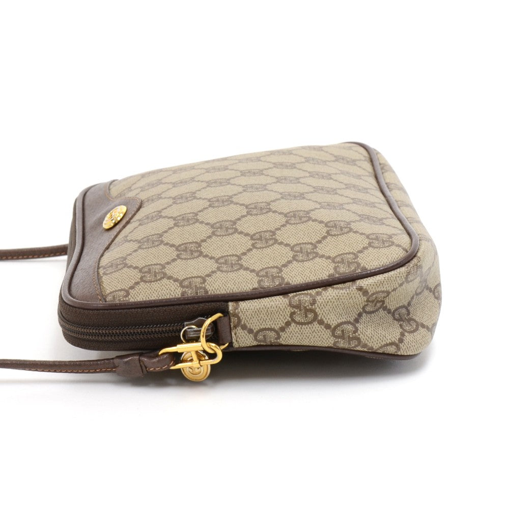 Supreme Monogram Canvas Mini Crossbody Bag