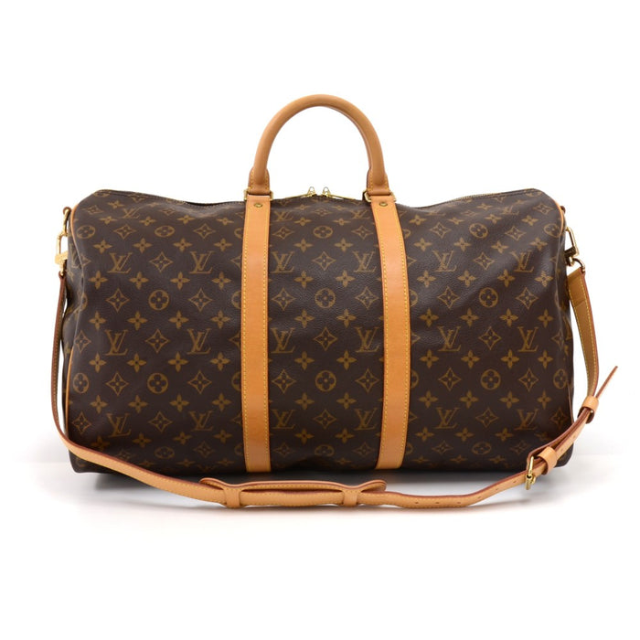 Keepall 50 Bandouliere Monogram Canvas Travel Bag with Strap Sold · Louis  Vuitton 00251cae0792c