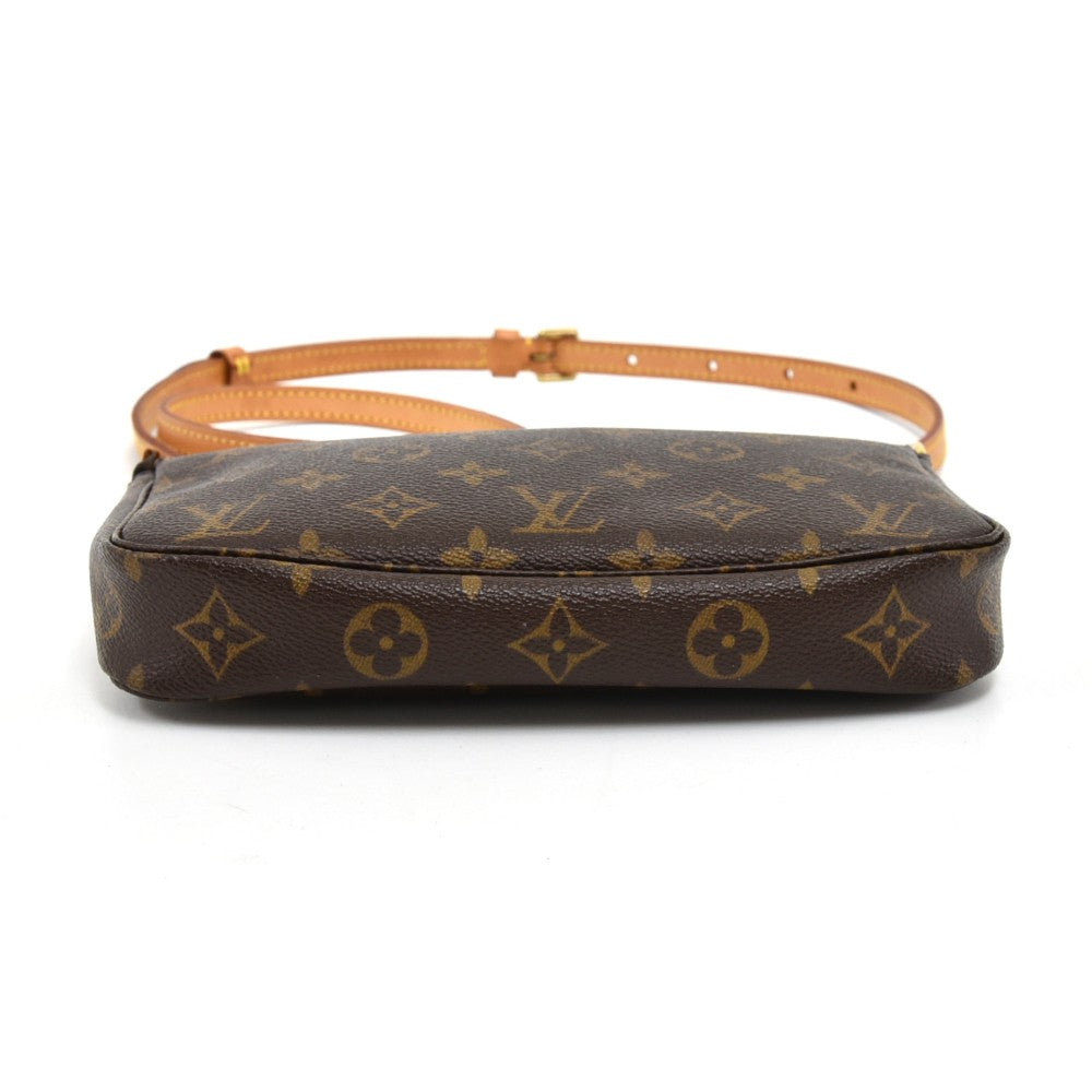 Pochette Accessoires Monogram Canvas Bag with Strap
