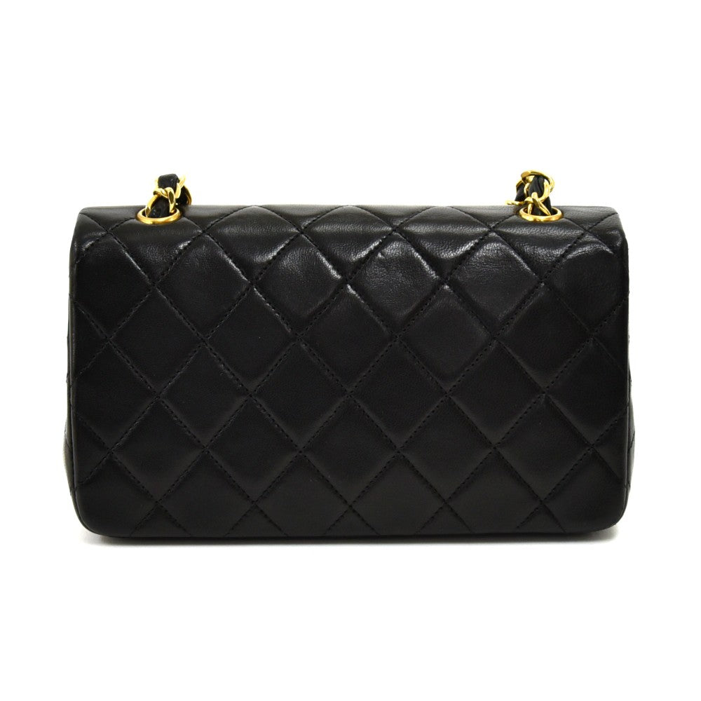 Singe Flap Mini Leather Leather Bag