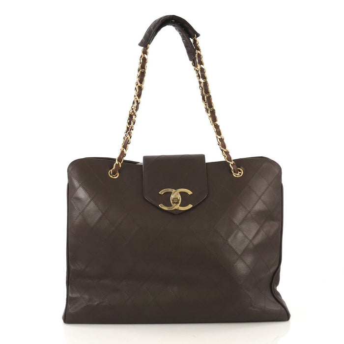 Supermodel Weekender Quilted Leather Large Bag