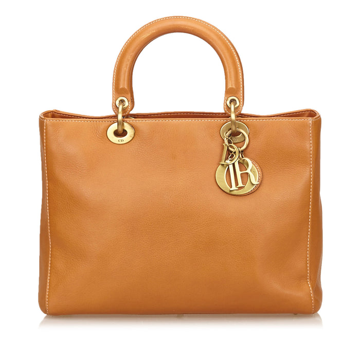 Diorissimo Smooth Lambskin Leather Handbag