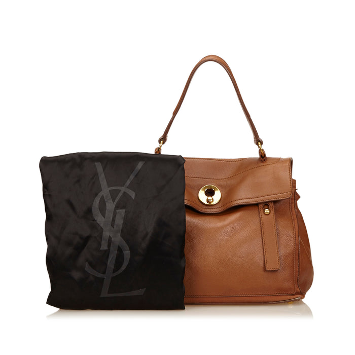 Muse Two Calf Leather Handbag