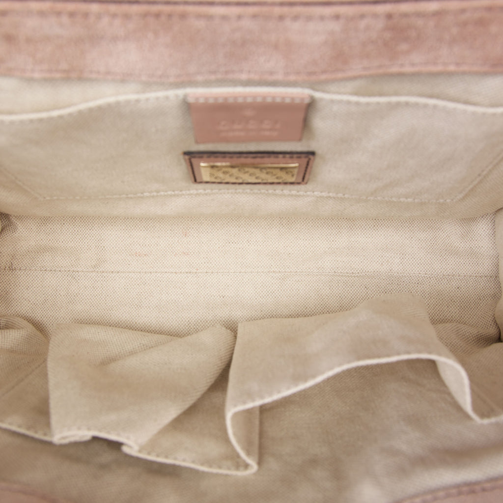 Emily Micro Guccissima Patent Leather Shoulder Bag