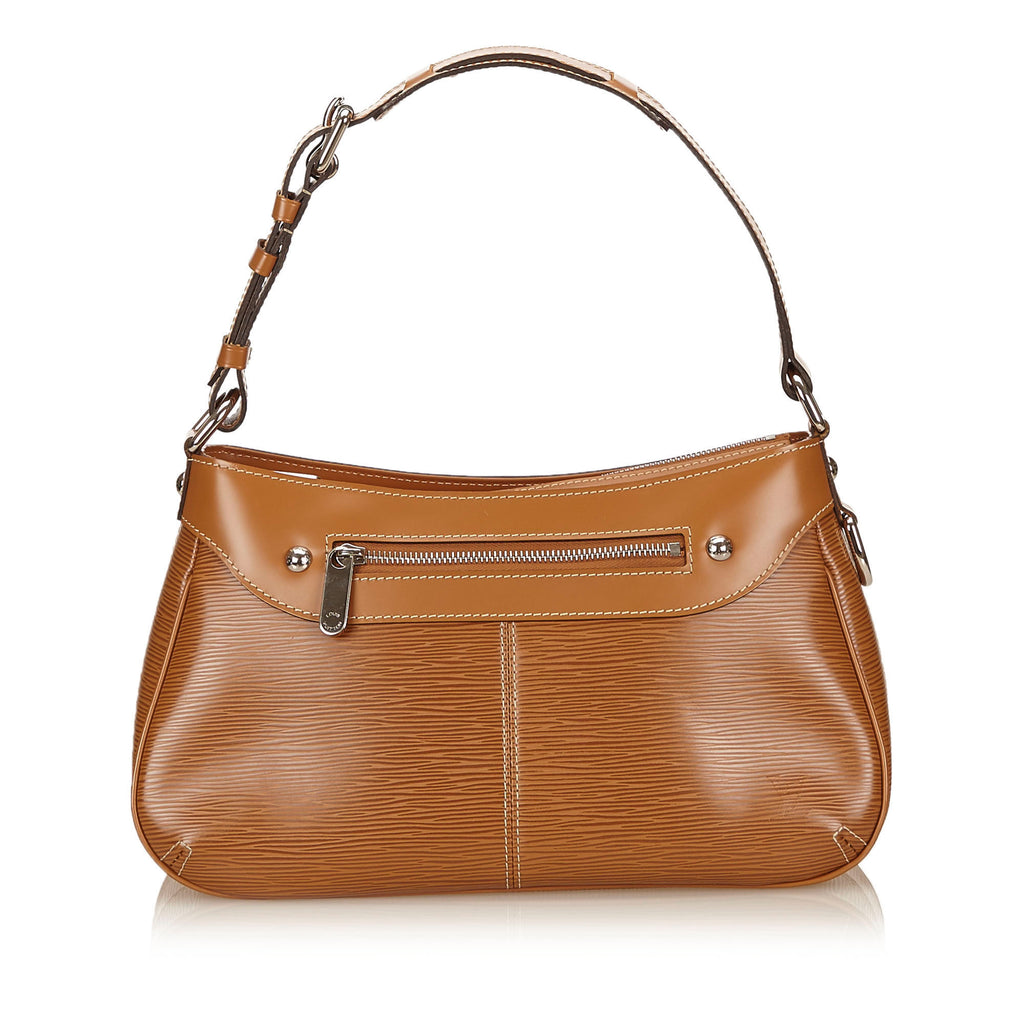 Turenne PM Cannelle Epi Leather Handbag
