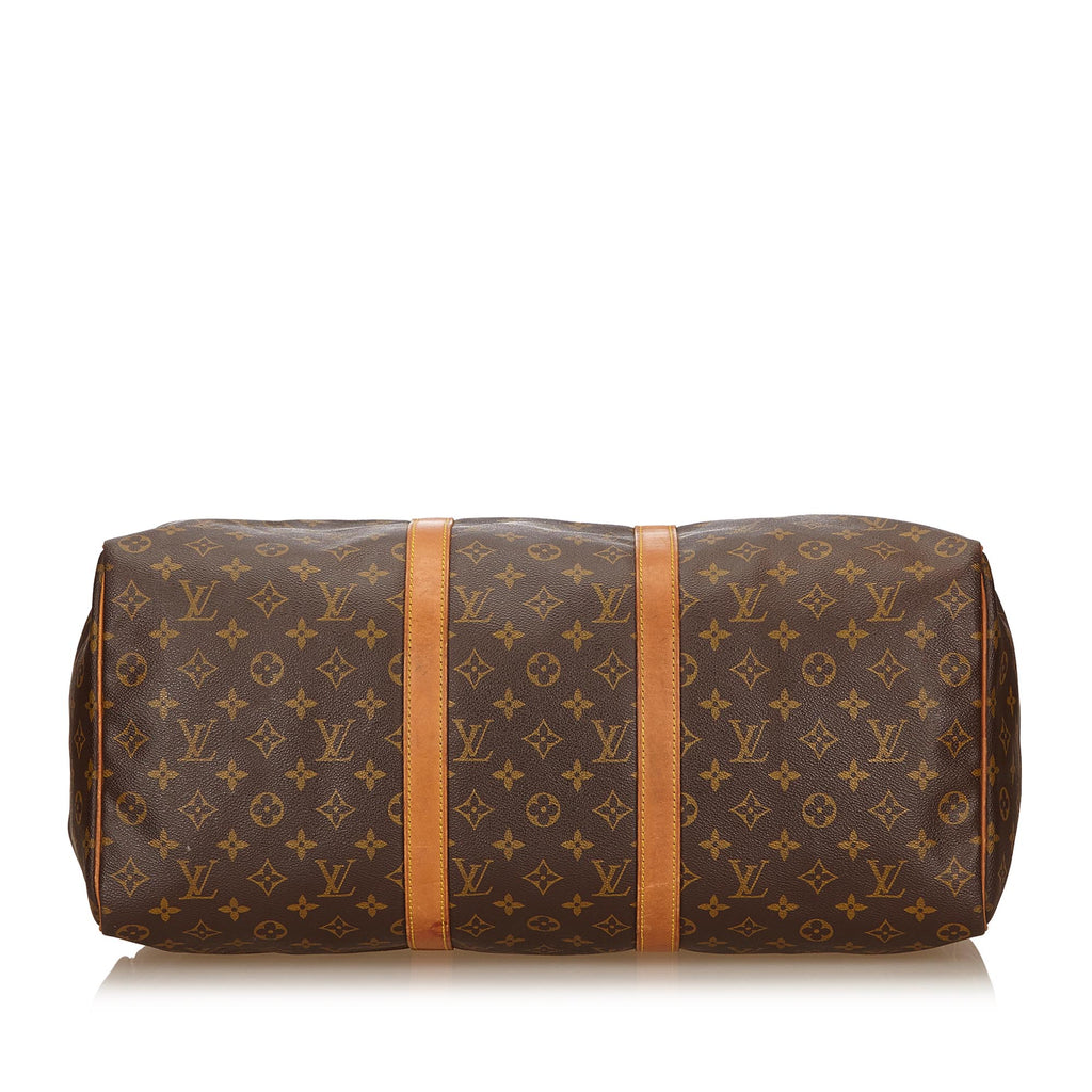 Keepall 50 Monogram Canvas Travel Bag
