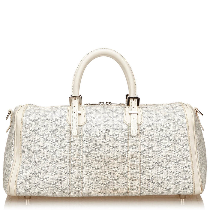 Goyardine Croisiere 35 Waterproof Canvas Handbag