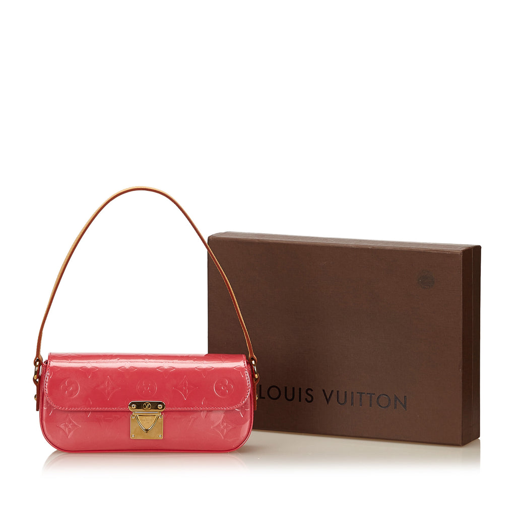 Malibu Street Monogram Vernis Leather Shoulder Bag