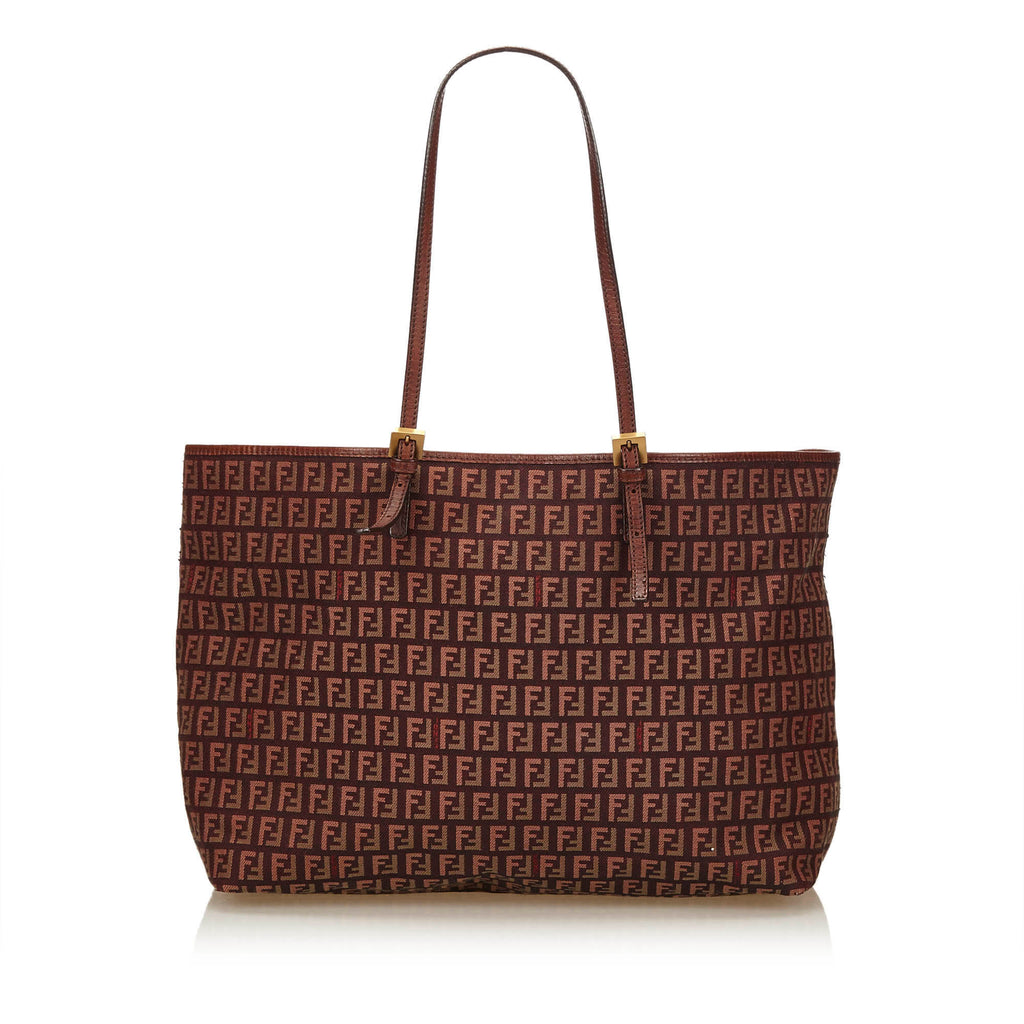 Tricolour Monogram Canvas Tote Bag