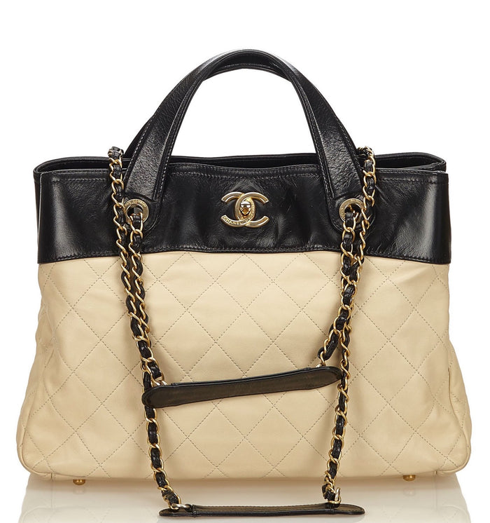 In the Mix Calf Leather Tote Bag