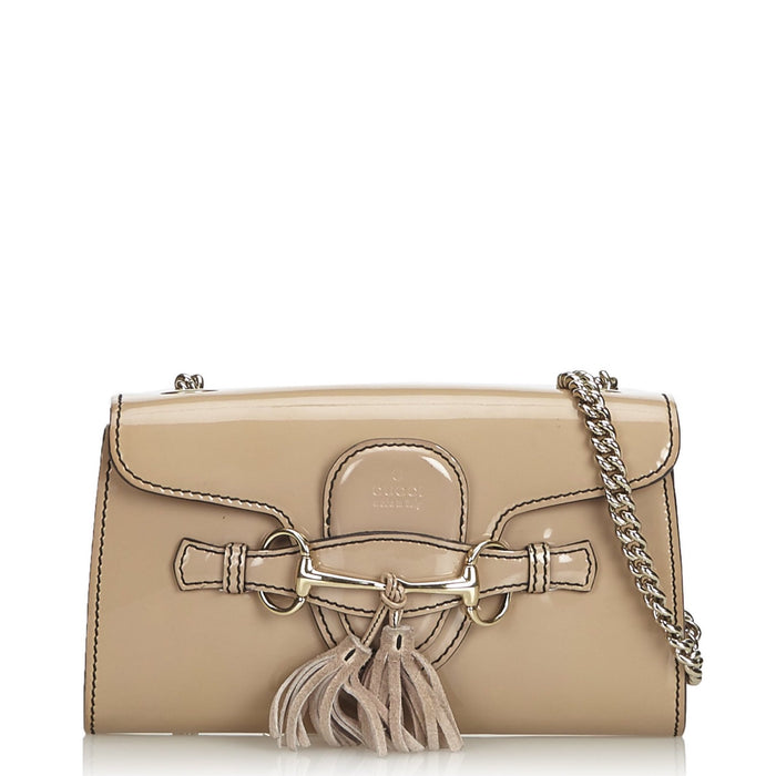Emily Patent Leather Small Bag