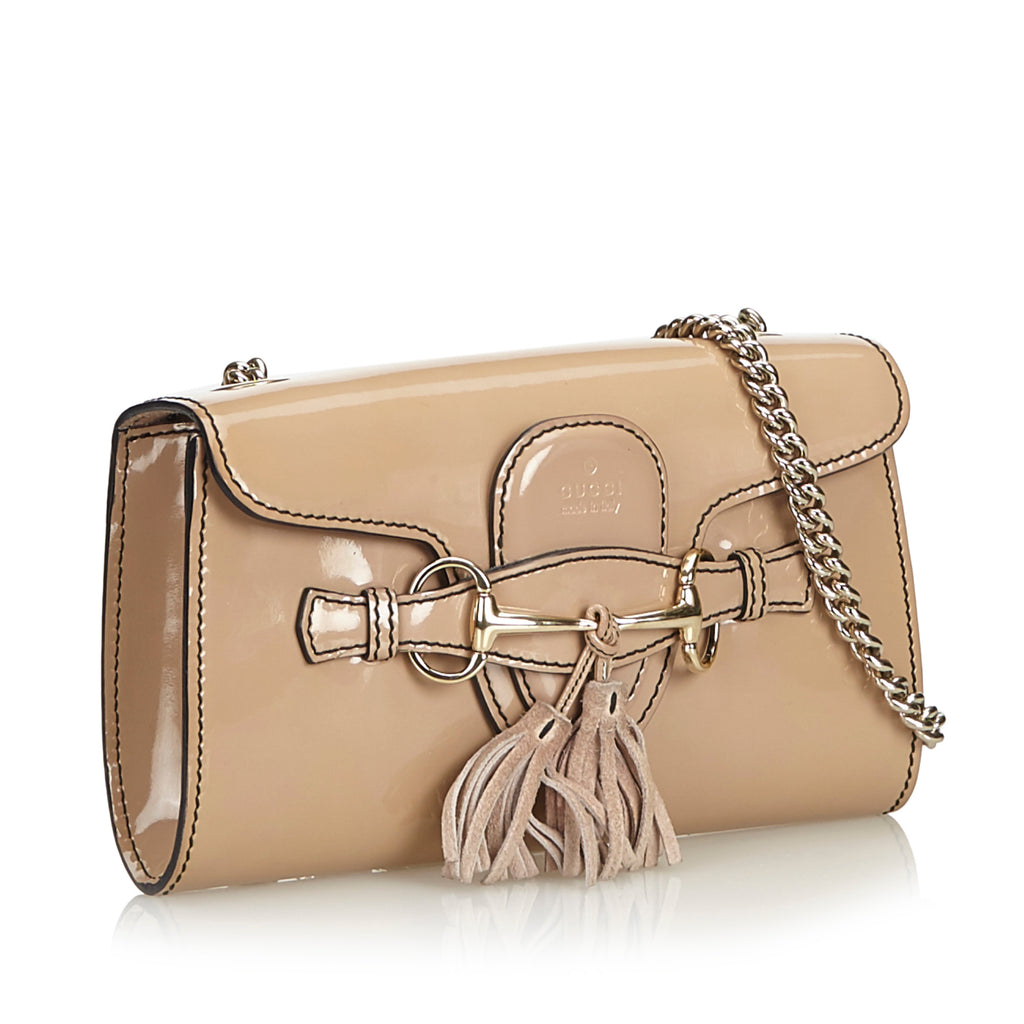 Emily Small Patent Leather Bag