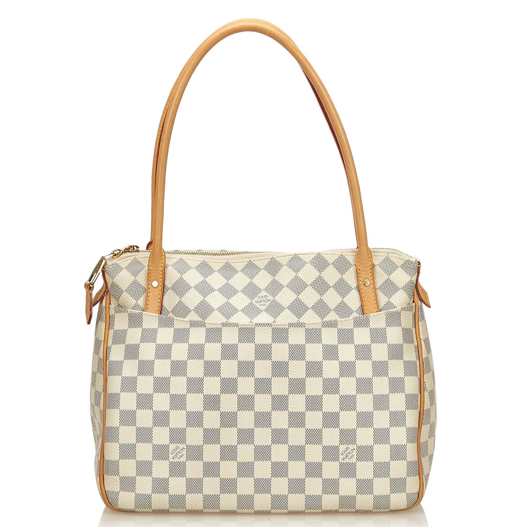 Figheri PM Damier Azur Canvas Bag