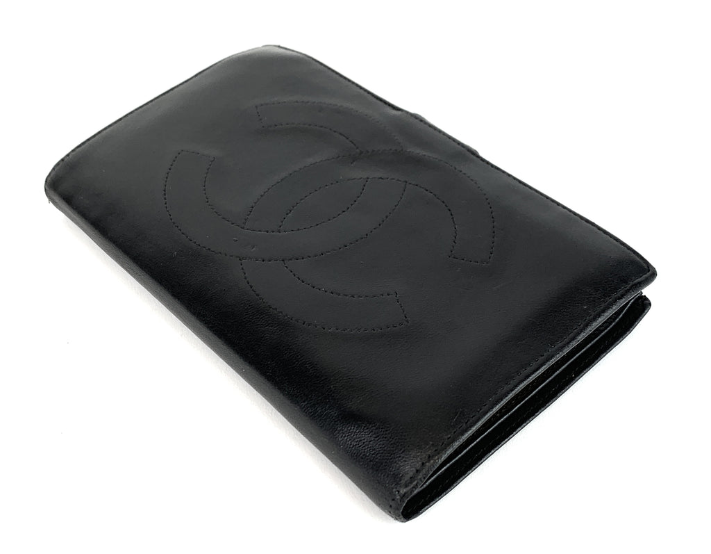 Timeless CC Lambskin Leather Wallet