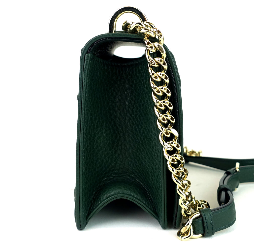 Diorama Medium Calf Leather Flap Bag