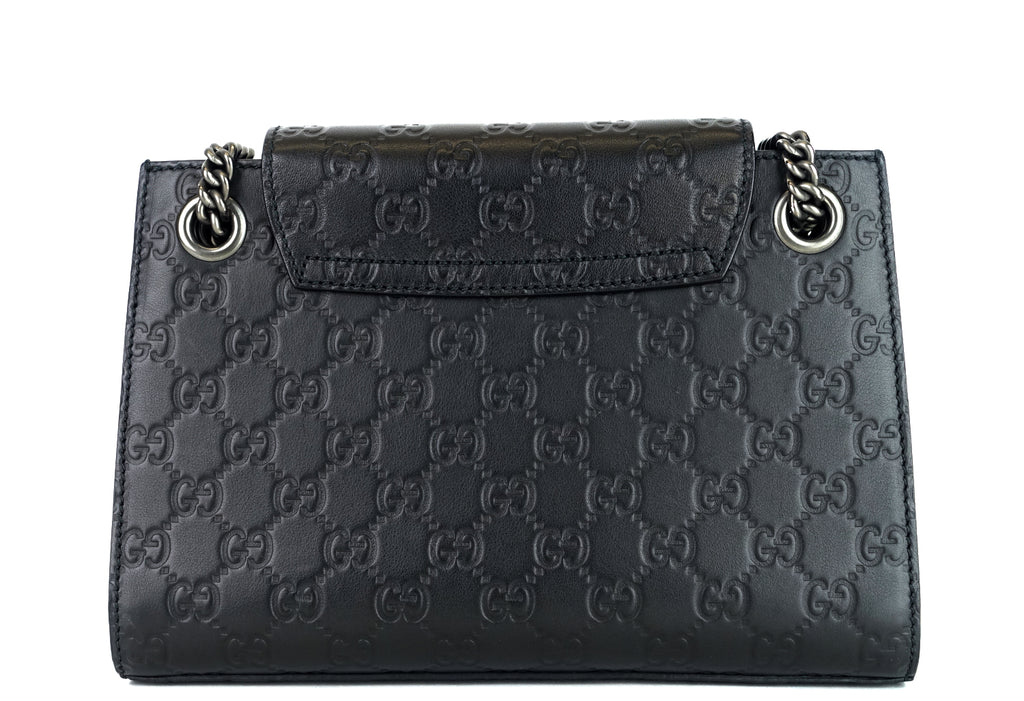 Emily Small Guccissima Leather Flap Bag